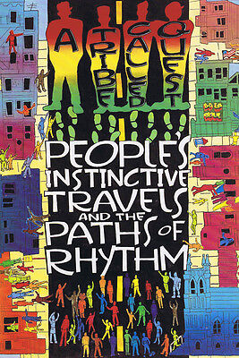 """A Tribe Called Quest People's Instinctive Travels a Poster 36x24"""" 21x14""""  Silk"""