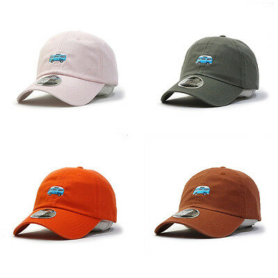 Embroidered Classic Washed Cotton Twill Low Profile Adjustable Baseball Hat