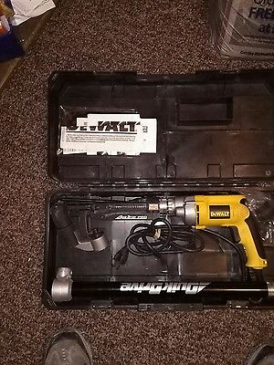 Quick Drive collated screw gun with both heads