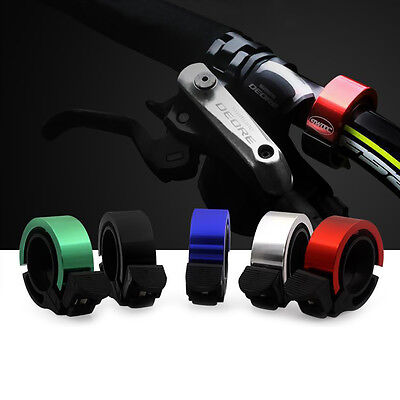 Bicycle Bike Handlebar Bell CNC Aluminum Alloy Cycling MTB Loud Horn Ring Alarm