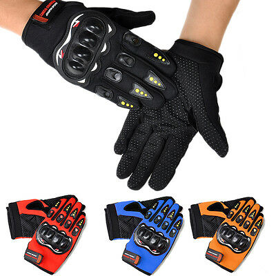1 Pair Men Gloves Bike Riding Motorcycle Riding Racing Protection Gloves For men