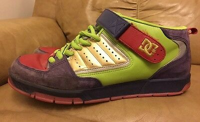 DC Aerotech Skateboarding shoes-trainers-sneakers size 8.5 UK Multicoloured