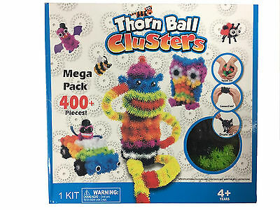 400PCS Thorn Ball Clusters Mega Pack Creative DIY Assembly Puzzle Toys