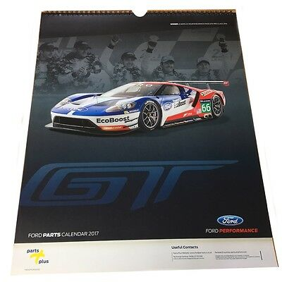 Ford Gt Performance 2017 Calendar Le Mans 24 Hour Endurance Race Gte Pro Class