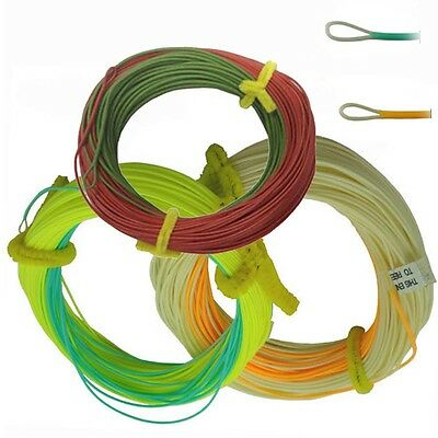 Aventik Float Trout Line Double Colors Weight Forward With Welded or Expose Loop