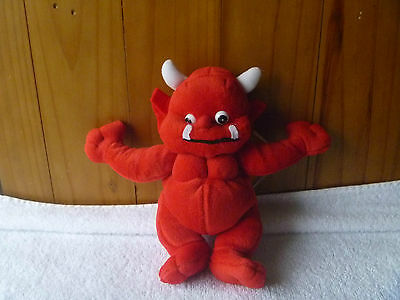 BEANIE KIDS RARE  - Flame the Little Devil Mutation BK018  - 2nd Generation Tag.