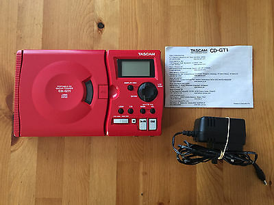 Tascam Cd-Gt1 Mkii Portable Cd Guitar Trainer With Power Supply & Instructions
