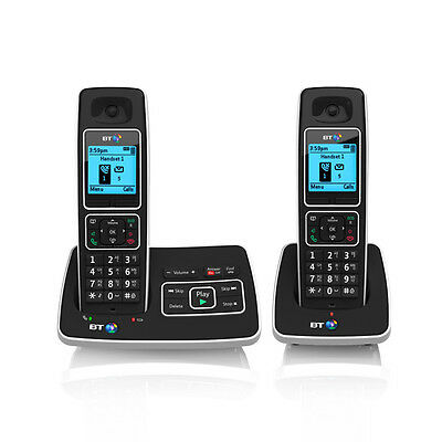 BT 6500 Twin Dect Cordless Phone With Answer Machine And Nuisance Call Blocking
