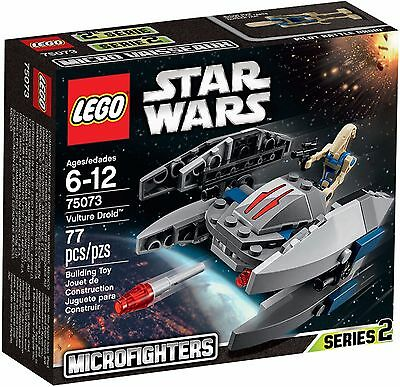 LEGO Star Wars 75073 Micro Fighters : Vulture Droid, Sealed box, Retired