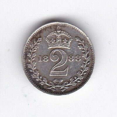 1888 Victoria Silver Two Pence***Collectors***