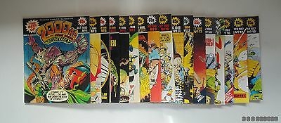 2000ad Featuring Judge Dredd Monthly Magazine Issues 1, 3-18 GC & CHECKED