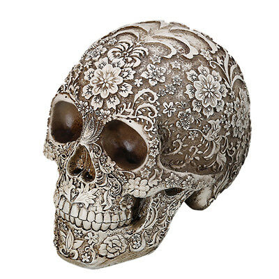 Lifesize Resin Replica Carving Human Anatomy Skull Medical Model Party Decor
