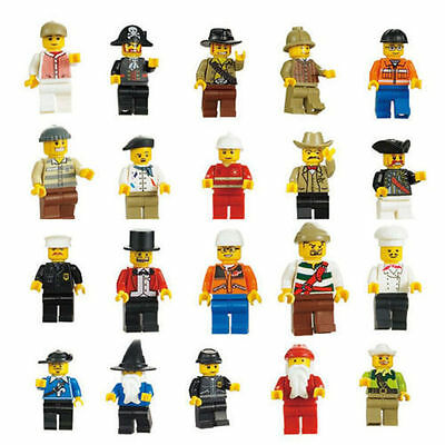 Lot of 10 Random New Figures Men People Minifigs  US SELLER!