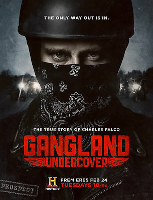 "Gangland Undercover  :MOVIE 27""x40"" Vinyl Poster HI-RES banner"