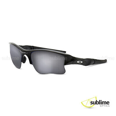 Black Iridium Polarized Replacement Lenses for Oakley Flak Jacket XLJ