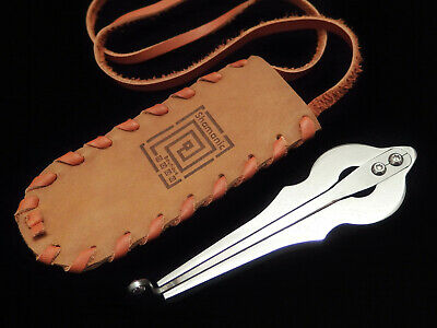 Jew's Harp by D.Glazyrin /Phantom/ in leather case Professional Jaw Harp mouth
