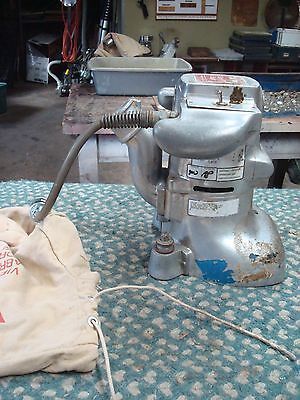 Clarke Super 7R Edger Sander W Bag