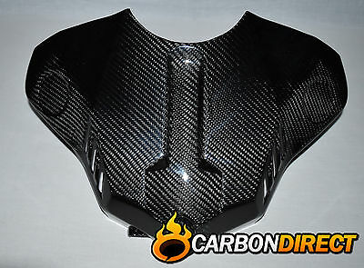 Yamaha R1 R1M 100% Carbon Fibre Front Tank Cover In Gloss Twill 2015 - 2016
