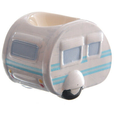 Novelty Ceramic Classic  Caravan Egg Cup Collectable