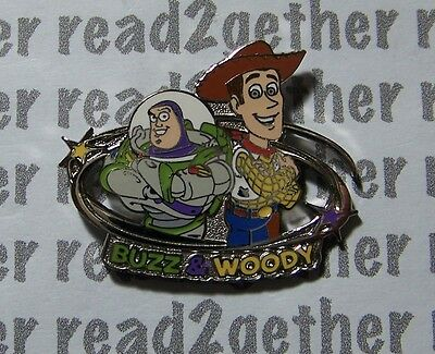 Disney Pin Buzz Lightyear and Woody Toy Story Starter