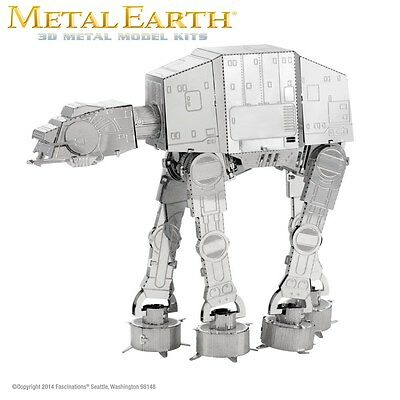 Fascinations Metal Earth AT-AT Star Wars Laser Cut 3D Model Imperial Walker