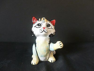"""Lorna Bailey """"buzzy Bee"""" Cat Brand New Hand Painted & Signed"""