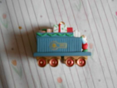 Hallmark Claus & Co Gift Car Dated Christmas Ornament 1991 No Box Number 2