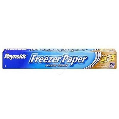 Reynolds® Freezer Paper Plastic Coated 75 Sq Ft- Quilting/arts/crafts Free P&p
