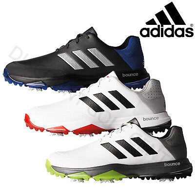 Adidas Mens AdiPower Bounce WD Golf Shoes Lightweight Durable Foam Wide Fit