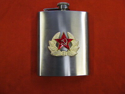Russian USSR Army Flask Stainless Steel