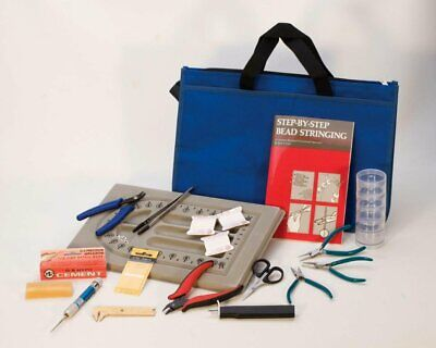 Professional Pearl and Bead Stringing Kit Beading Jewelry Making Tools Set