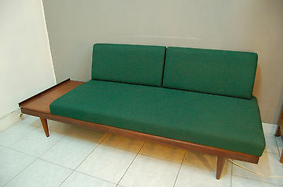 Daybed scandinave canapé  Ingmar Relling teck refait à neuf 50 60s