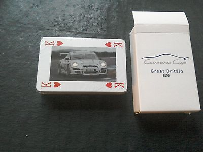 Carrera Cup 2006 playing cards
