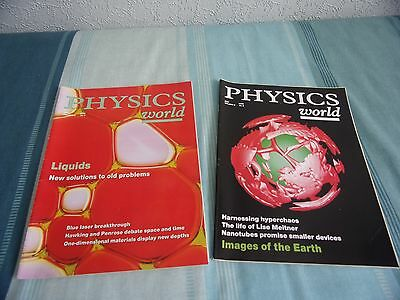 2 Physics World magazines April '96 and May '96 used