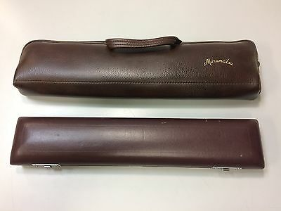 French Muramatsu Leather Flute Case with Case Cover (B)