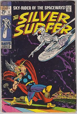 Silver Surfer #4, Marvel Comics, Thor