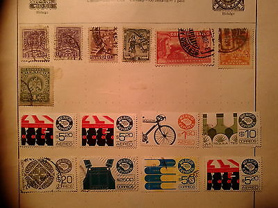 South America stamps MEXICO