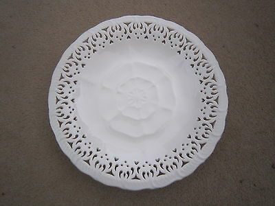 """HARTLEY GREENS & Co. LEEDS POTTERY PLATE - YORKSHIRE ROSE - 9"""""""