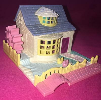 Vintage Polly Pocket Bluebird Grandma's Cottage COMPLETE dolls cookie tray