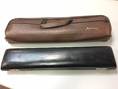 Muramatsu Leather French B Foot Flute Case with Case Cover (J)