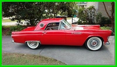 1955 Ford Thunderbird  1955 Ford Thunderbird Used Automatic Convertible, Removable Hardtop