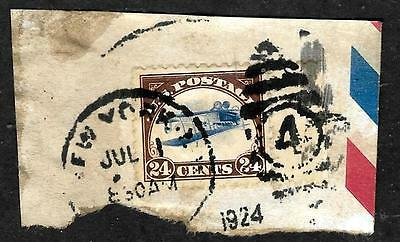 501 - Usa - 1924 - Air Mail - Inverted Jenny - Forgery - Fake - Faux