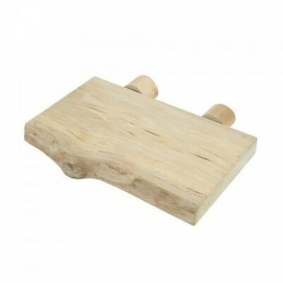 Natural Java Wood Shelf Toy For Parrots, Birds And Reptiles - African Greys 4125