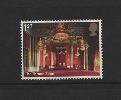 The Throne Room/buckingham Palace/gb 2014 Um Mint Stamp