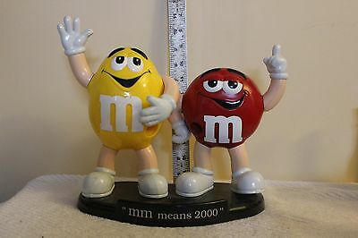 2000 Red And Yellow M & M Candy Dispenser