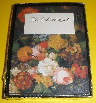 Antioch Floral / Flowers  Bookplates New Sealed