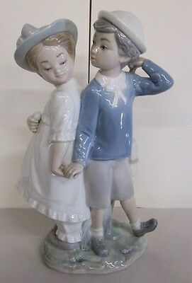 """Retired Lladro__""""puppy Love"""" #1127_Indianapolis Estate Darling Large Collectible"""