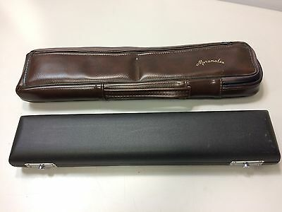 French B Foot Flute Case with Muramatsu Case Cover  (T)