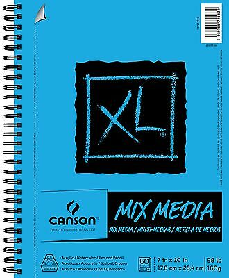 Canson Multi Media Paper Pad, 60 Pages