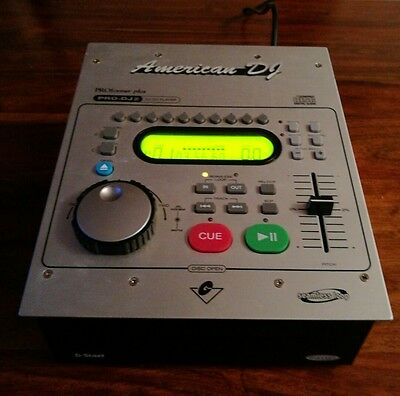 AMERICAN DJ CD PLAYER pro-dj / front loading professional single player